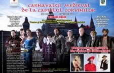 Carnavalul medieval de la Hunedoara